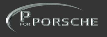 P for porsche logo